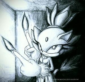 Blaze~ Credit: iLOVEKNUCLESSHADOW on deviantART, Sega