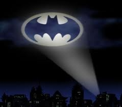 """Batman's symbol shone in the night sky, able to see anywhere in Gotham."""