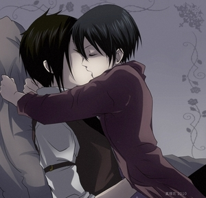 ciel and sebastian kiss - photo #19