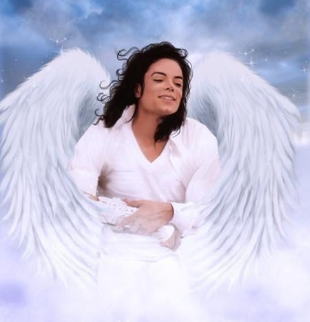 How he probaly looks in Heaven.