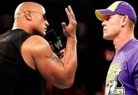 "The Rock mocking John Cena's ""You Can't See Me"""