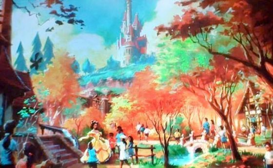 Beauty and the Beast Land