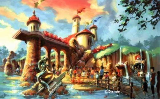 The Little Mermaid Land