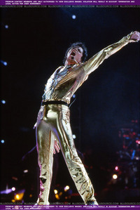MJ's Infamous GOLD PANTS