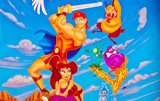 """Walt Disney's """"Hercules"""" (1997)"""