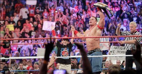 John Cena won!