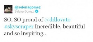 Selena Is So Proud Of Demi<3