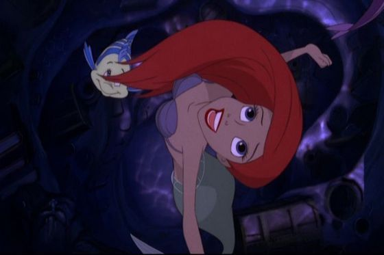 The Little Mermaid who dreamed of something more!