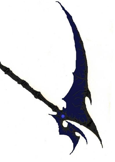 her scythe