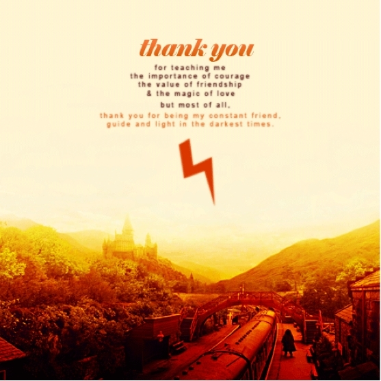 Thank You Harry Potter...