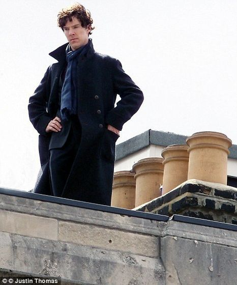 Sherlock moments before the fall.