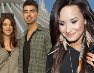 """During the tour with the Jonas Brothers, Joe was in the company of his new girlfriend and all you have always wondered whether the conduct """"excessive"""" by Demi (such as attacking the dancer Alex Welch) depended on their own by """"cumbersome"""" presence of Ashl"""