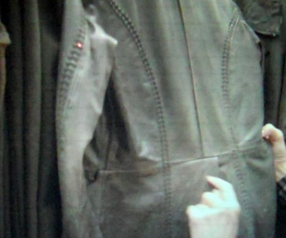 back of trench coat
