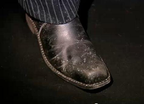 Sweeney's shoe