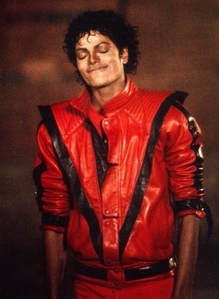 MJ- does it again- Voted the BEST music video of the 80s