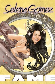 Selena in a comic book!