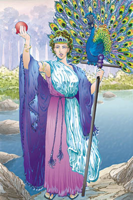 Hera-Queen of the Gods and Goddess of Marriage, Family and Women