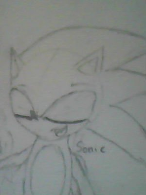 Sonic the hedgehog..This time I did it well