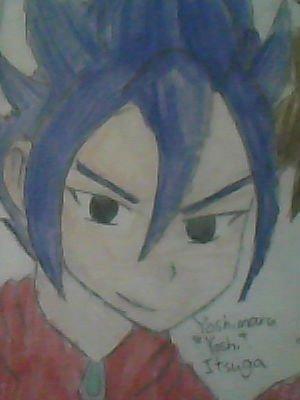 Yoshimaru Itsuga...Zoro_Roronoa!! I'M GONNA KILL Ты CUZ Ты STOLD MY YOSHI!!BTW,he has no proof if he drew it или not..