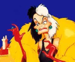Cruella De Vil, 101 Dalmatians 1 & 2