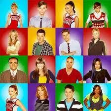 the glee cast at there fashion finest.