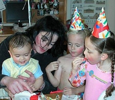 MJ- the doting and loving father