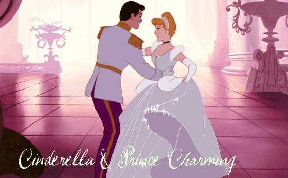 Disney prince and princess in love