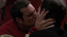 When Kurt is confronting Karofsky about being bullied, Karofsky kisses Kurt. Before this, Kurt has never been kissed