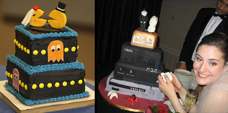 the one on the right is our wedding cake