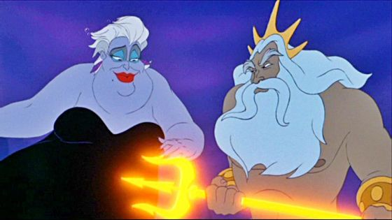 A moment of truth for Triton as Ursula explains a few blunt realities to him.