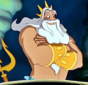 The Mighty King Triton.