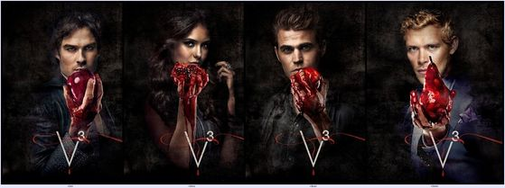Season 3 of the Vampire Diaries begins on September 15th on the CW 8/7c(8:00pm Eastern Time and 7:00pm Central Time USA).