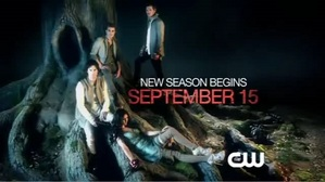 Season 3 of the Vampire Diaries begins on September 15th on the CW 8/7c(8:00pm Eastern Time and 7:00pm Central Time USA)