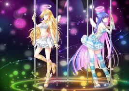 panty (left) and stocking (right)