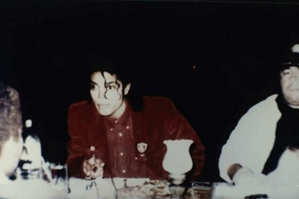 Michael,looking shocking after learning that he has to be away from Breanna for 2 yrs