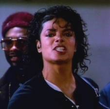"Michael was telling Andra to :""Beat it!"""
