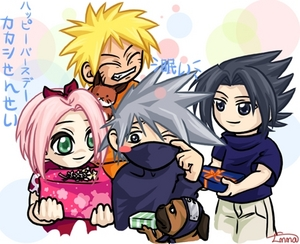 Happy Birthday Kakashi bởi Team 7