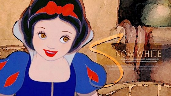 Lips red as the rose, Hair black as ebony and Skin white as snow! She is the Fairest of Them All!