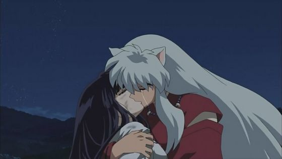"Kikyo's ""Final Act"" in her beloved's arms"