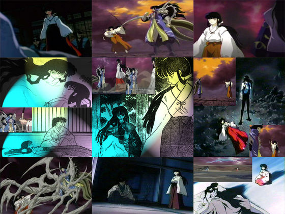 Kikyo and Naraku's Battles