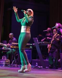 R&B étoile, star Mary J. Blige