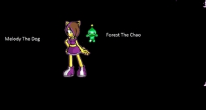 Melody and her Chao Forest