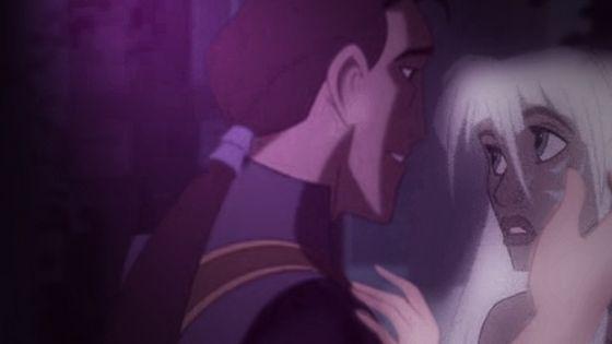 Proteus and Kida about to kiss ~By: DIAMELA~