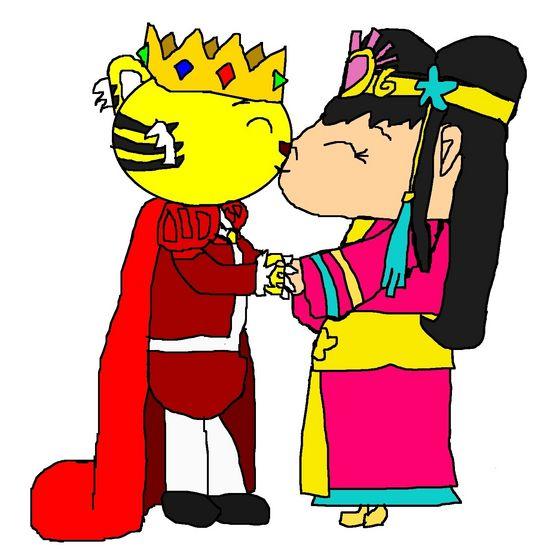 Emperor Rintoo and Princess Kai-Lan