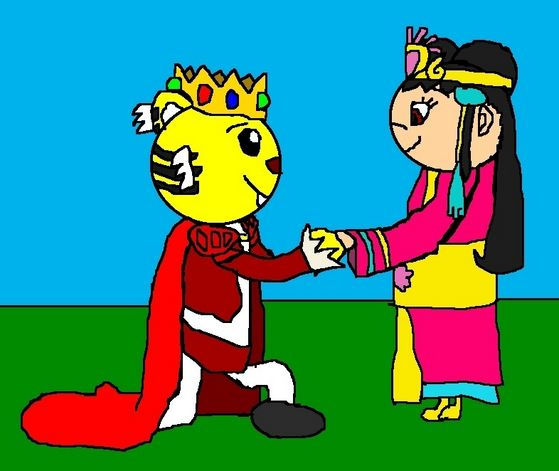 Emperor Rintoo and Princess Kai-Lan - Proposal