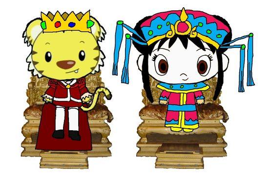 Emperor Rintoo and Empress Kai-Lan