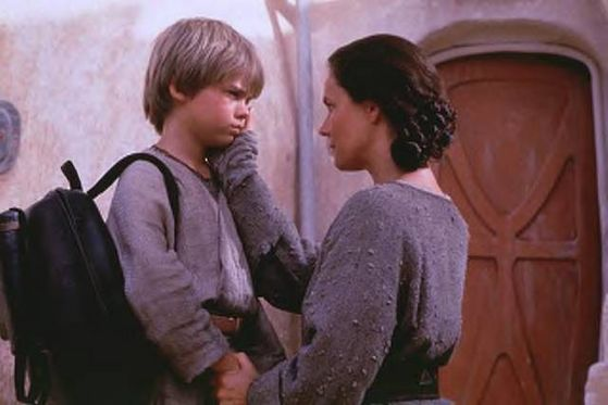 anakin and his mother