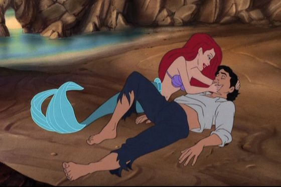 "Ariel:""...and I could be part of your world"" Eric:""A girl... rescued me. She... she was singing..."""