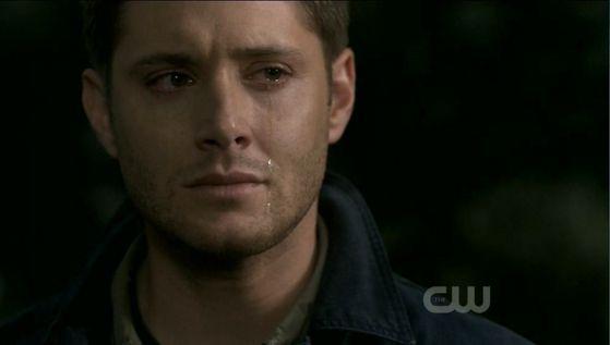 Dean weeps
