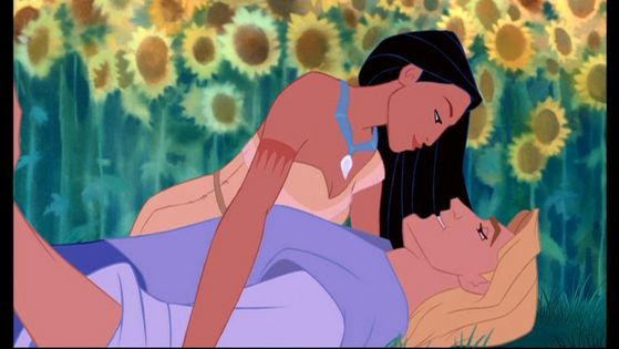 """""""Oh, Pocahontas, you'd totally be number one in my countdown!"""" -- """"...You white men certainly are weird, aren't you?"""""""
